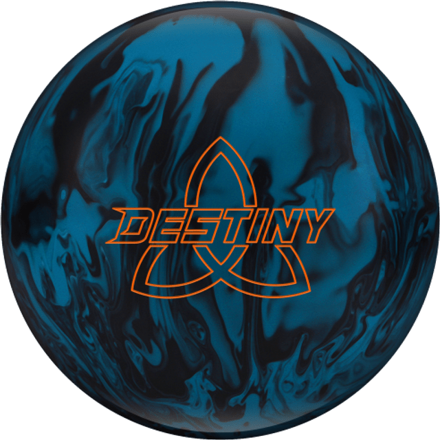 Ebonite Destiny Solid (Blue / Black)